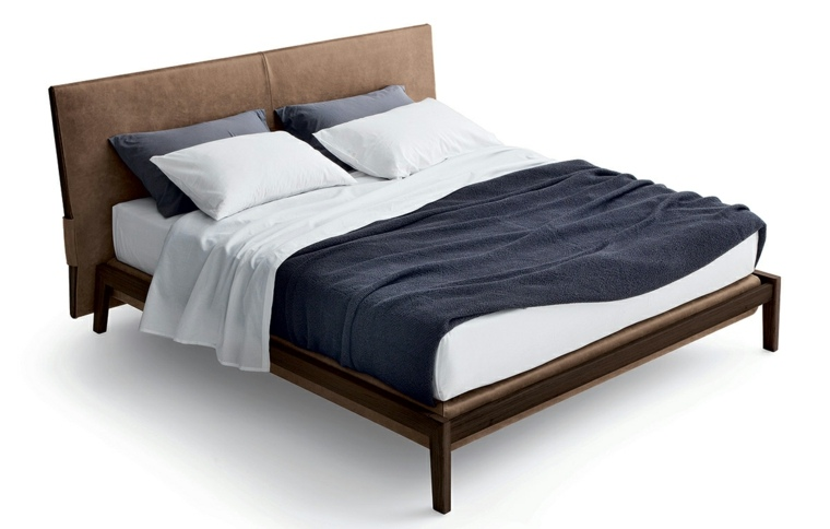 cama marron modelo poliform