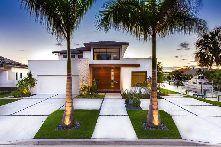 Borden Landscape Design casa costa diseno contemporaneo ideas