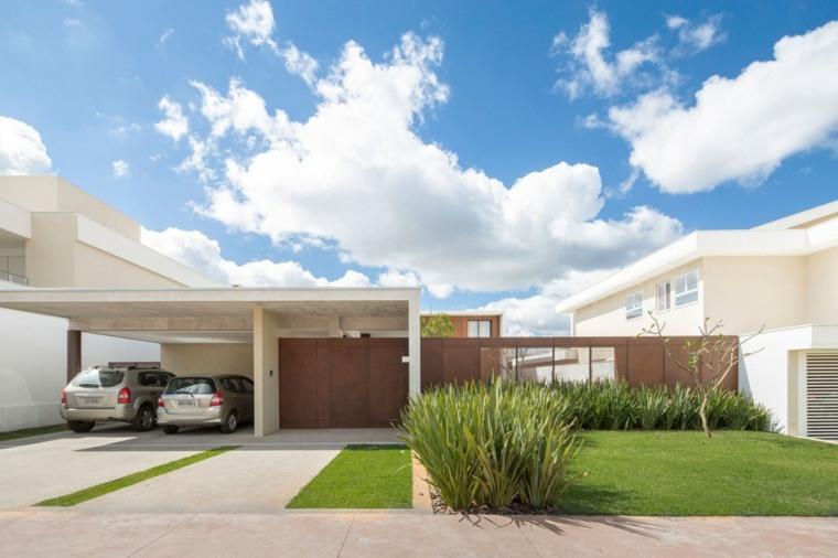 Esquadra Yi Design disenaron casa ideas espacios simple Brasilia Brazil