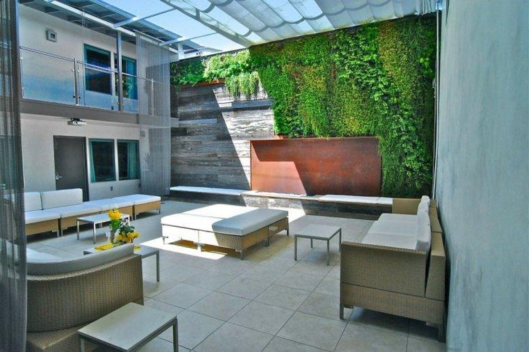 Horst Architects pergola jardin vertical ideas