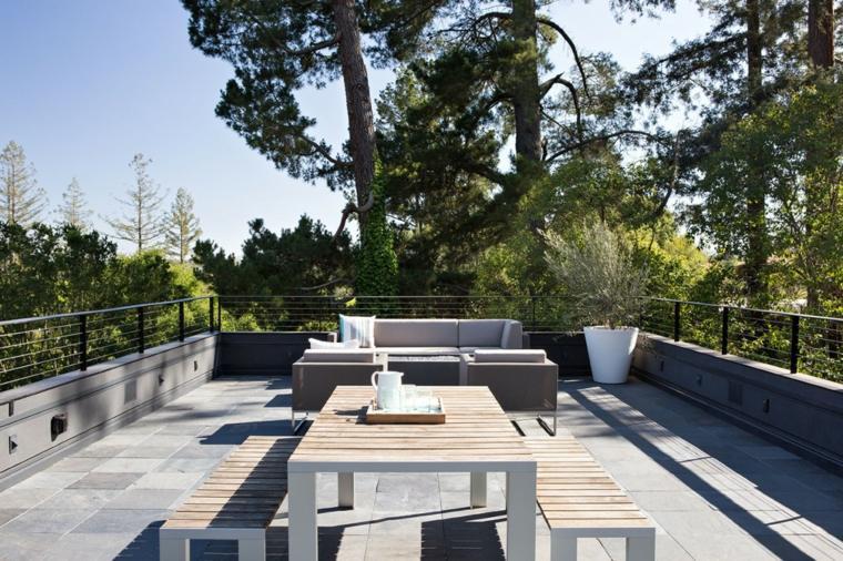 Klopf Architecture combinacion minimalista moderno ideas