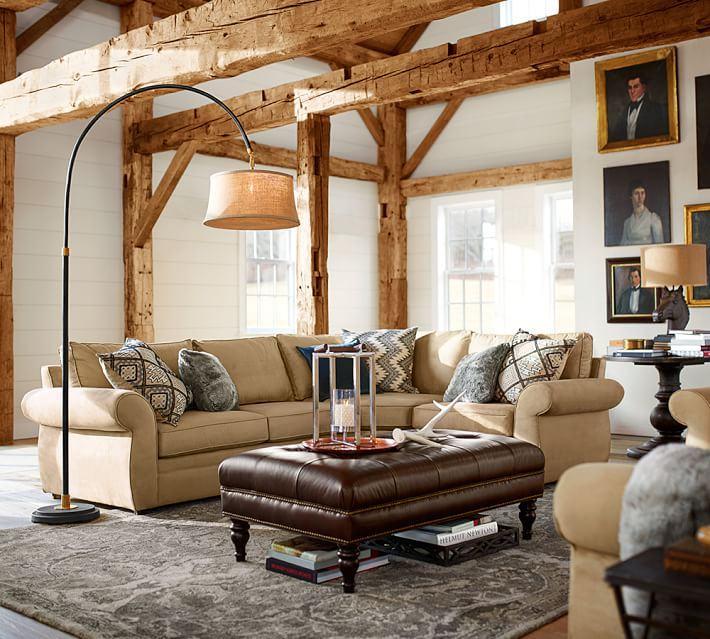 alfombras salon estilo natural moderno ideas