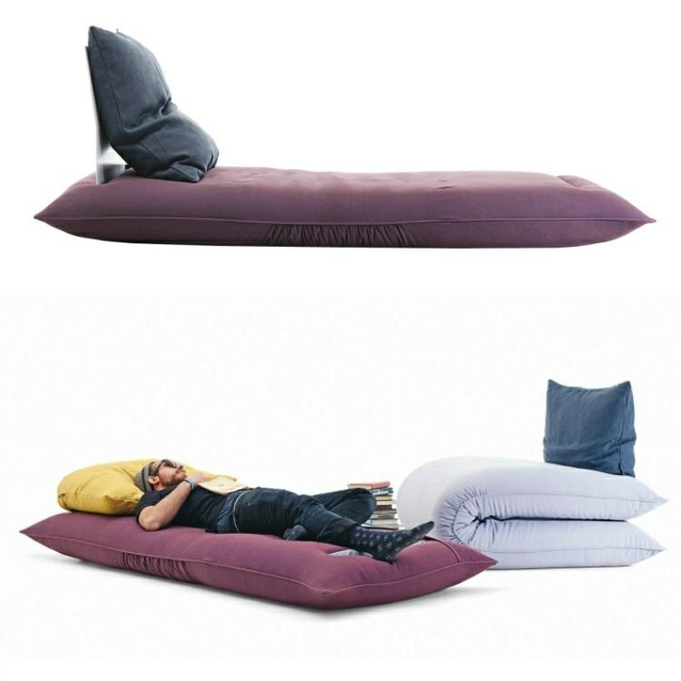 almohadon grande sofa colchon Chama