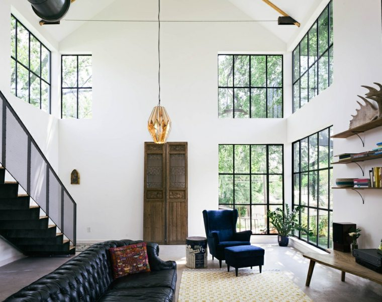 apartamento diseño estilo moderno sofá