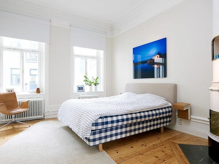 apartamento dormitorio estocolmo diseno escandinavo ideas