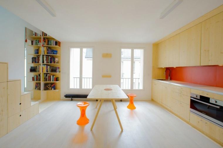 Decoracion hogar 24 ideas para apartamentos peque os for Apartamentos minimalistas