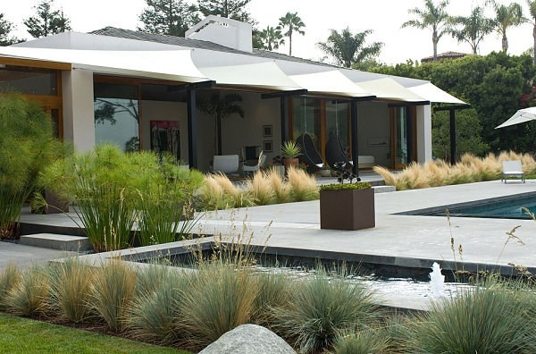 arbustos de jardin areas bien definidas ideas