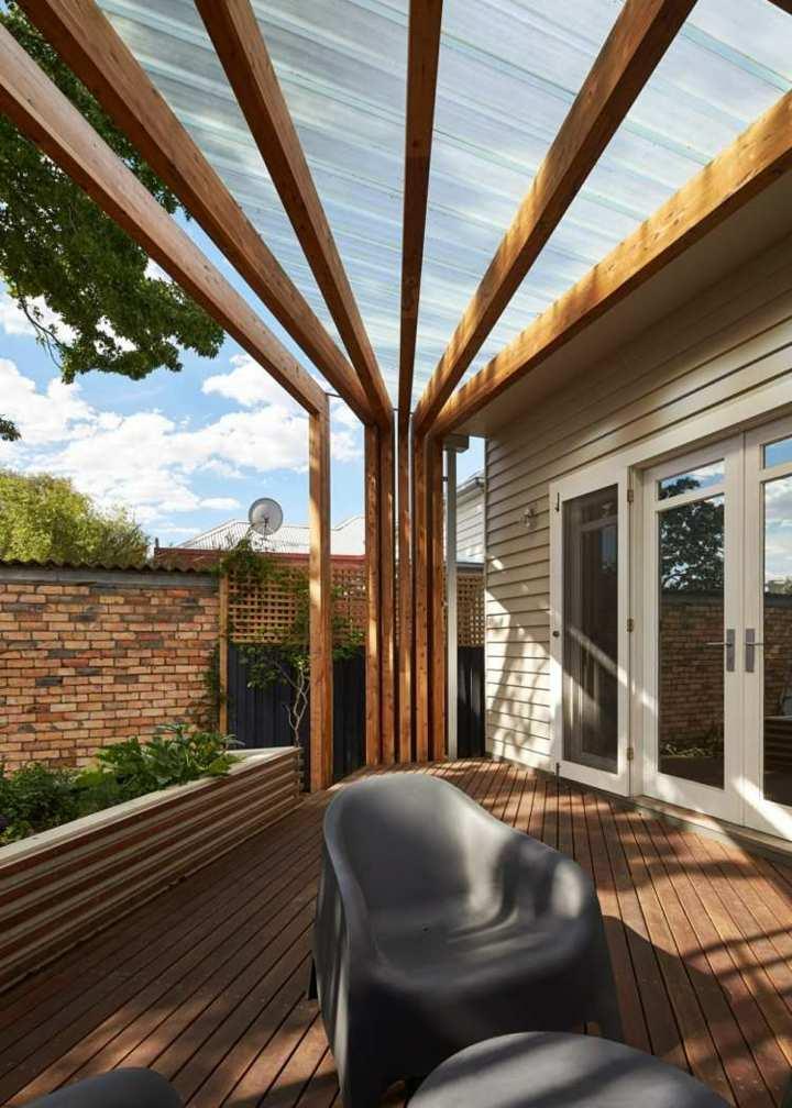 Arquitectura madera aplicada de un modo creativo for Sillones exterior diseno