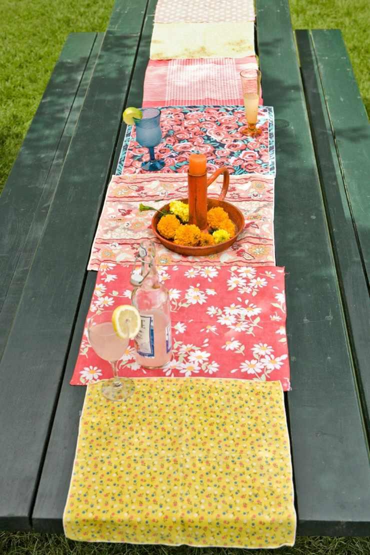 arreglos florales camino mesa perfecta fiesta primavera ideas