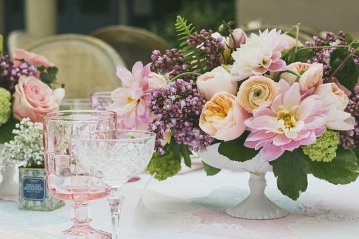 arreglos florales primavera centro mesa opciones ideas