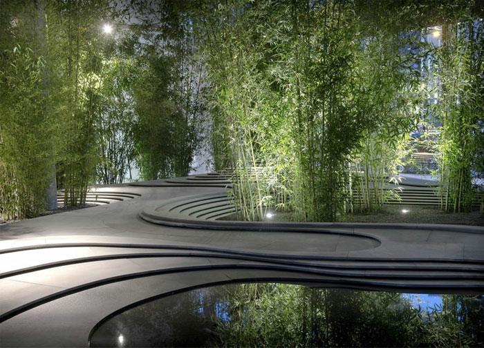 atarctivos bambu suministros lagunas led