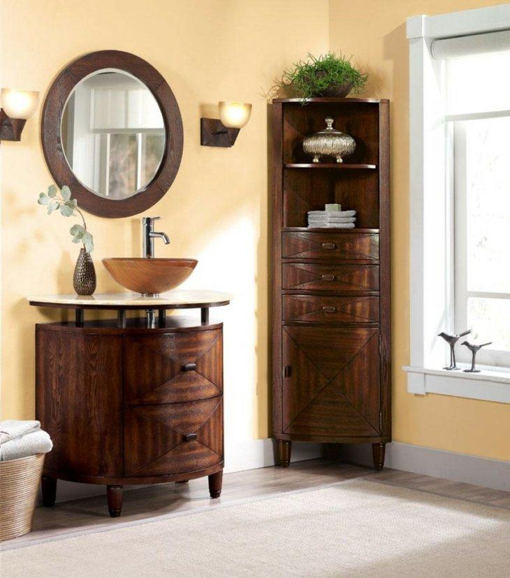 El espacio aprovechado al m ximo en las esquinas y otras - Muebles de bano en esquina ...