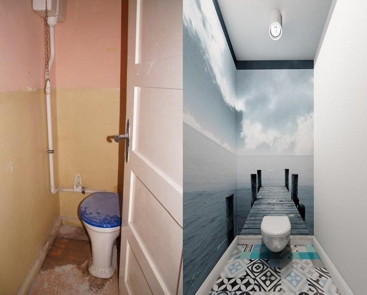 Interiores de casas renovadas con atractivos detalles.