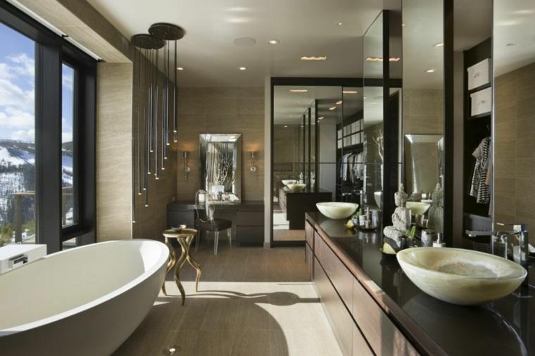 baños con encanto dorados ideas frecuencias