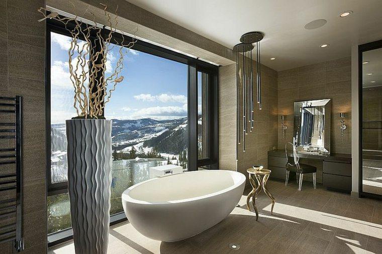 baños con encanto lujoso detalles dorados efectis