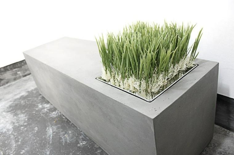 Bloques de hormigon en el jard n 34 dise os de moda for Beton cellulaire pour mur exterieur