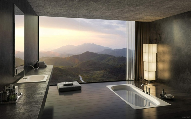 diseños de baños de lujo