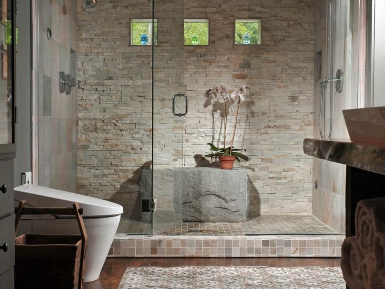 bano cabina ducha grande lujosa