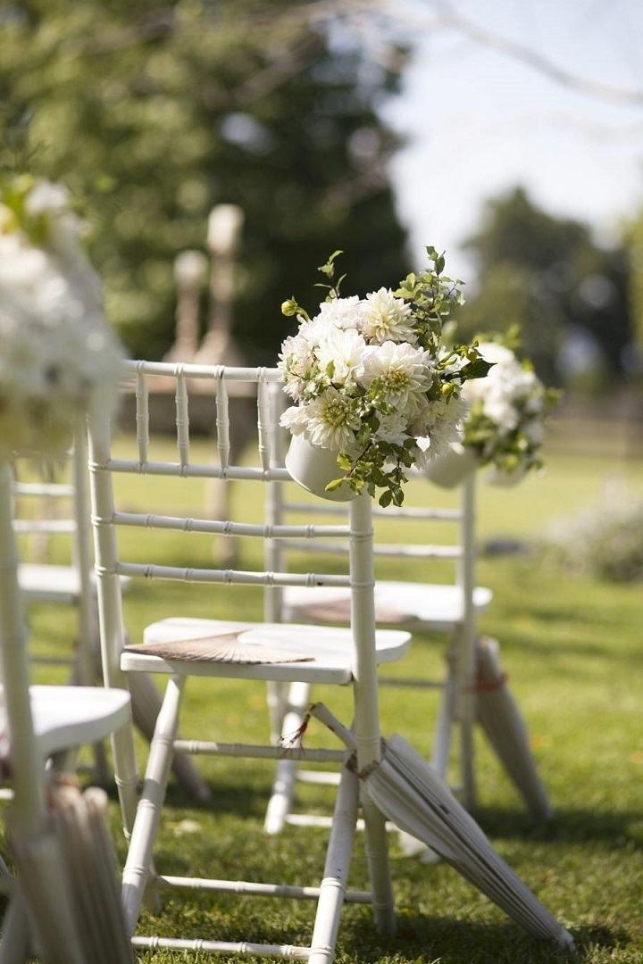 bodas primavera sillas blancas opciones ideas