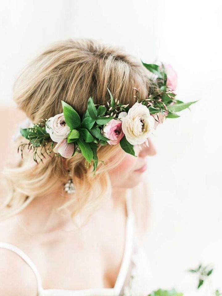 bodas primaverales opciones decoracion corona flores ideas