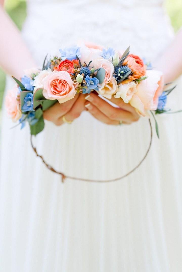 bodas primaverales opciones decoracion tiara flores ideas