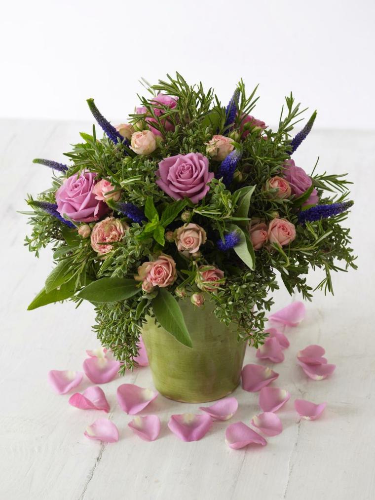 bonitas flores boda rosas