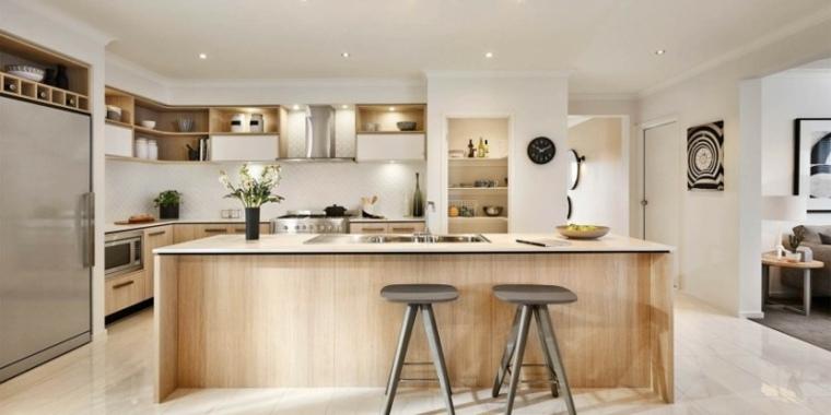 Isla de planos cocina dise o - Cocinas ultimas tendencias ...