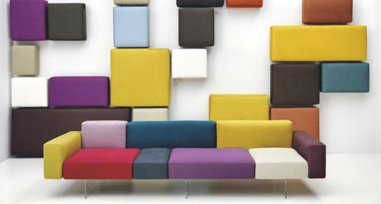 bonita foto modelos de sofas colores