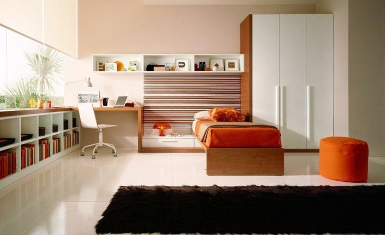 bonita habitacion moderna juvenil