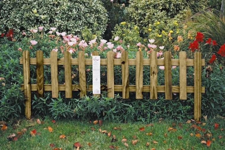 bonita valla madera jardin