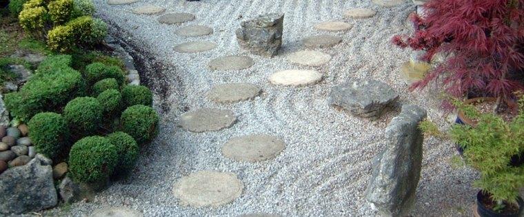 bonitas fotos jardines estilo zen