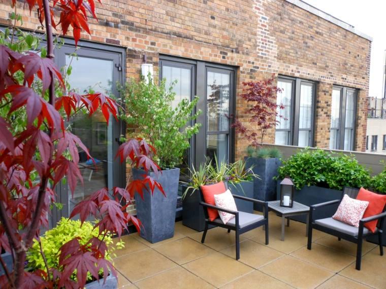 Jardineria terraza atico ideas paisaj sticas para este - Plantas para terrazas ...