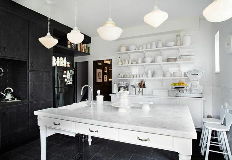 bonito diseño cocina vintage