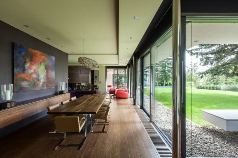 bonito diseño interior estilo bauhaus