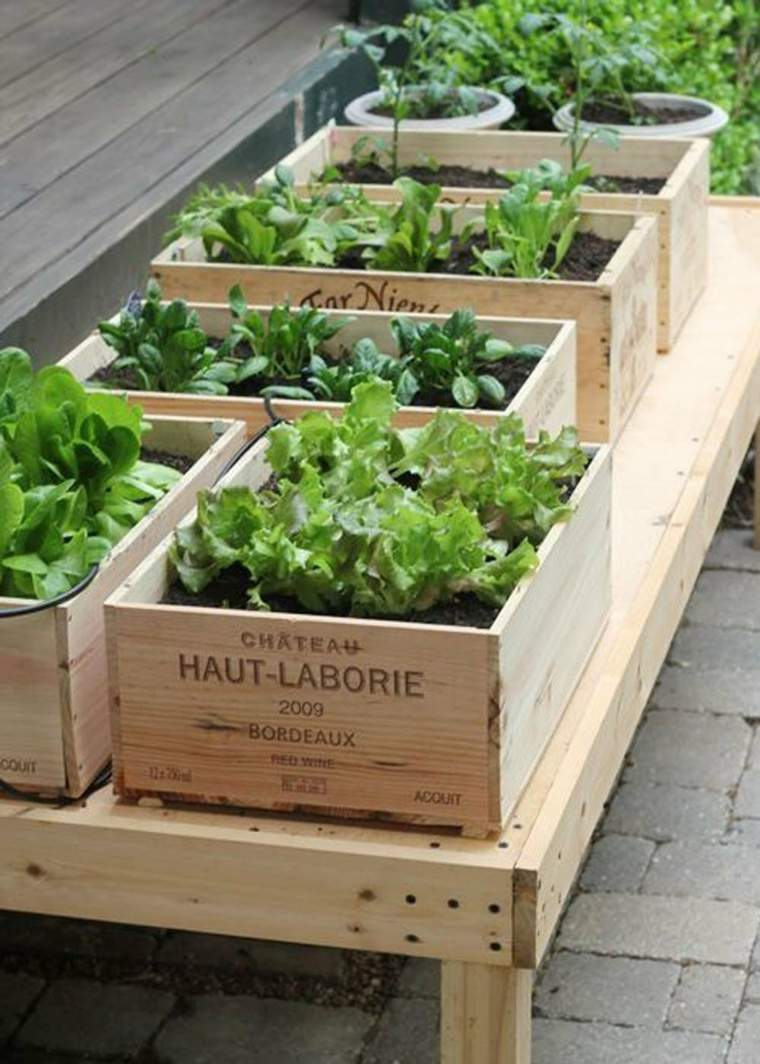 Huerto En El Balc N Treinta Y Cuatro Ideas Sencillas  ~ Como Cultivar Tomates En El Huerto