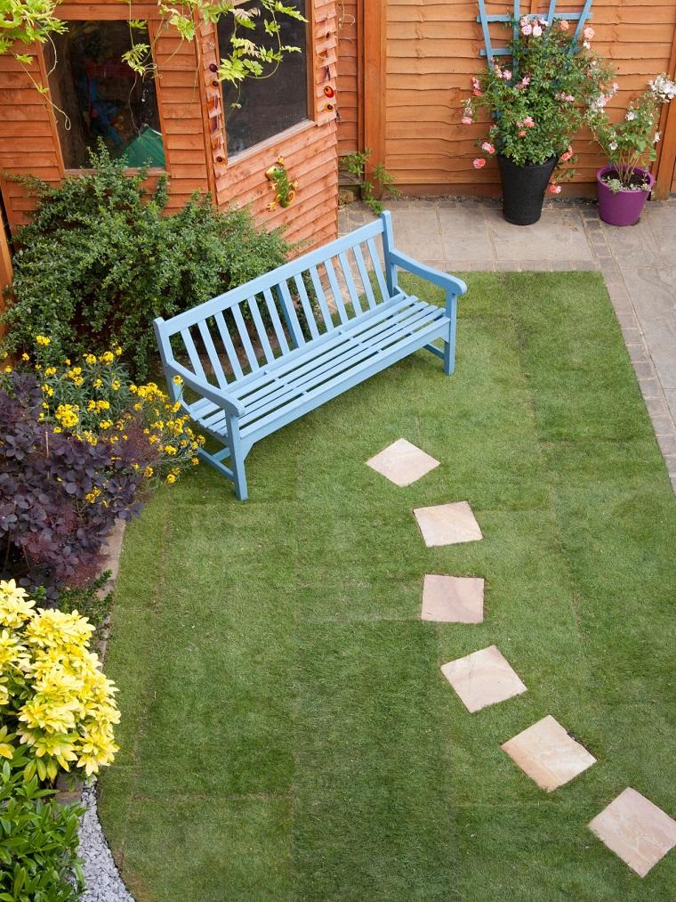 Caminos preciosos en jardines con c sped 37 ideas for Caminos en jardines