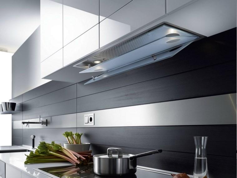 Campanas de cocina 12 dise os innovadores nicos - Paredes de cocinas modernas ...