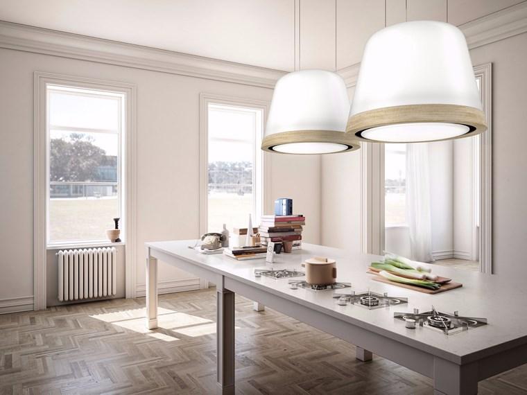 campanas de cocina contemporaneas imitacion lamparas ideas