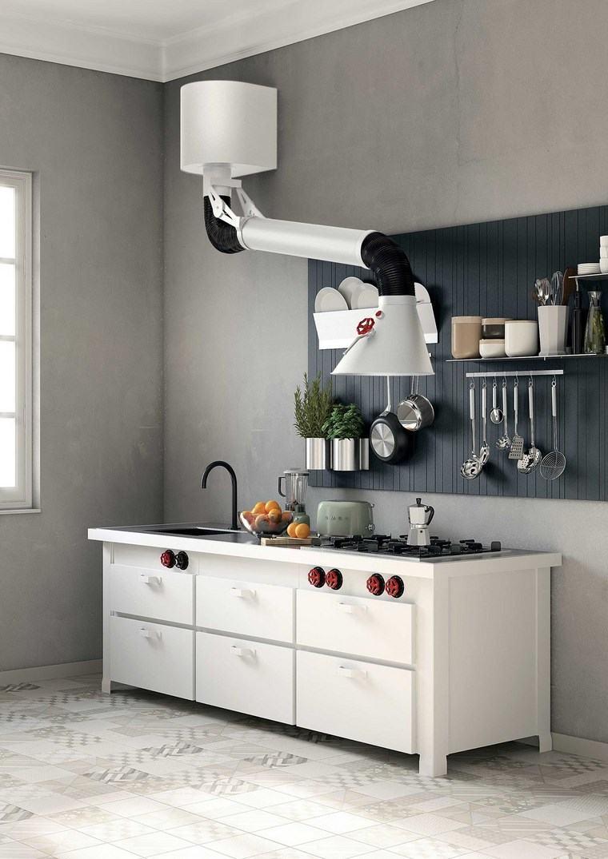 Campanas de cocina 12 dise os innovadores nicos - Cocinas de campana ...