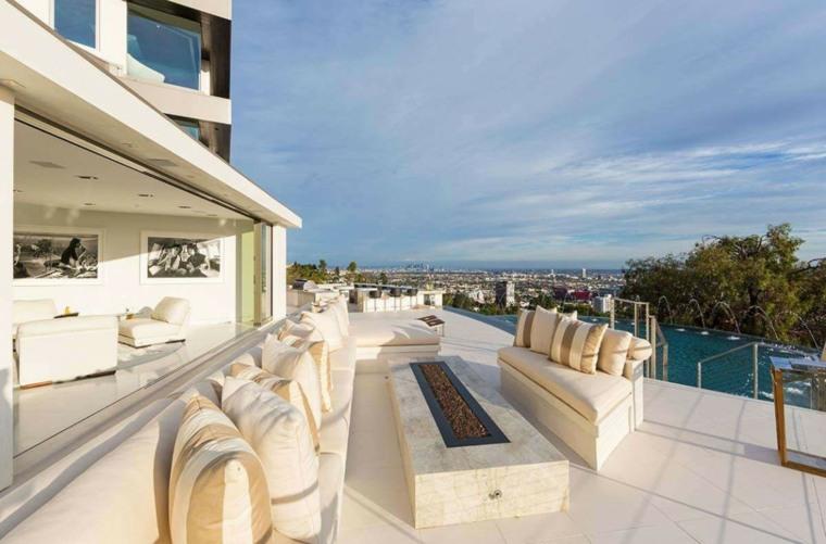 Terrazas exteriores modernas 25 opciones de dise o for Diseno terrazas modernas