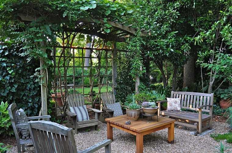 casa jardin consejos fotos mesa madera opciones ideas