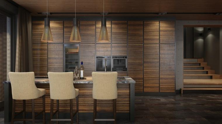 Casas de lujo incre bles soluciones para interiores - Casas de madera lujo ...