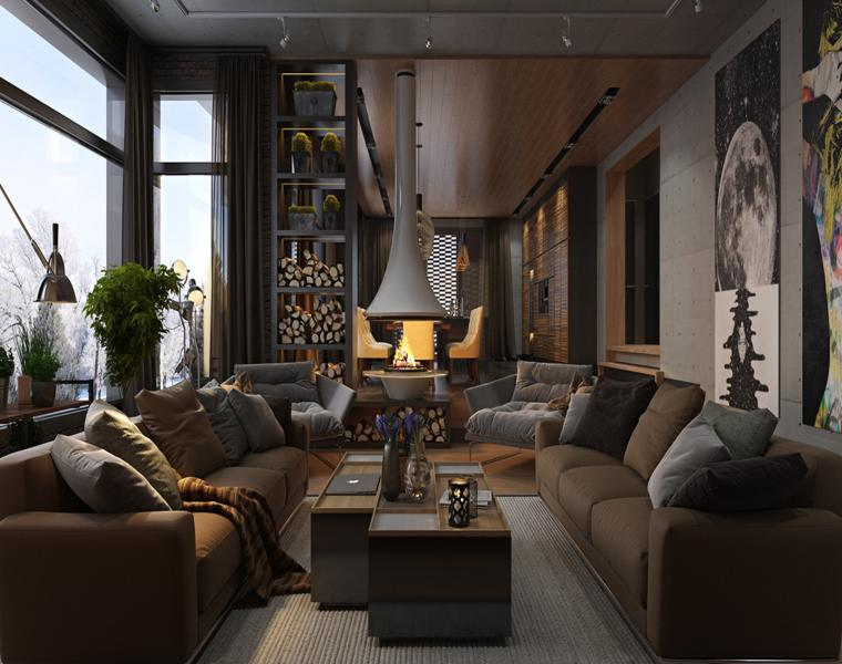 Casas de lujo tres dise os de interiores impresionantes for Imagen de interior de casas