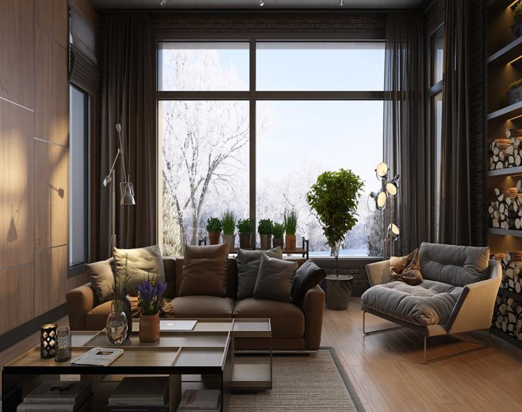 Casas de lujo tres dise os de interiores impresionantes - Disenos interiores de casas ...
