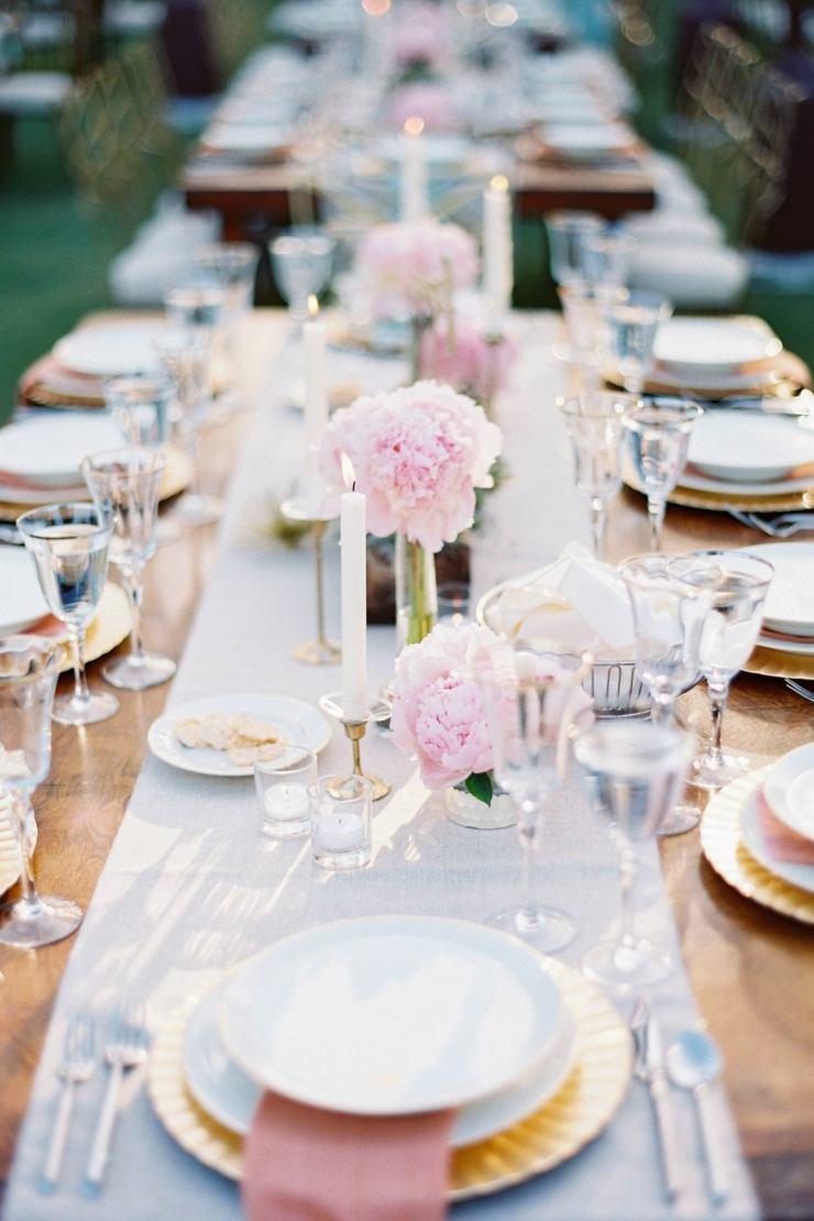 centro mesa flores primavera femenino romantico ideas