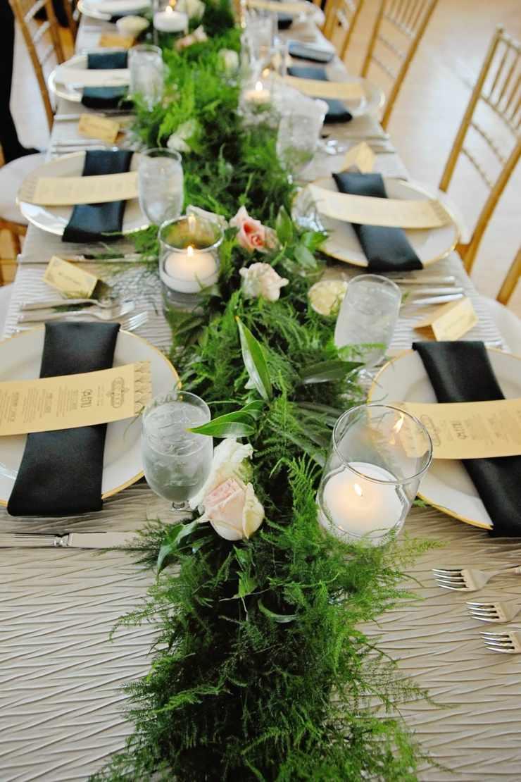 centro mesa flores primavera frescura color verde ideas