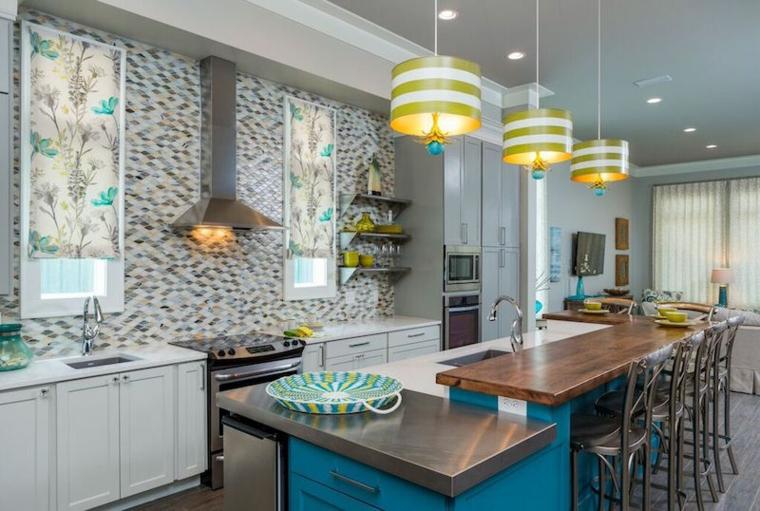 Ultimas tendencias en el dise o de cocinas para 2016 - Ultimas tendencias en decoracion de paredes ...