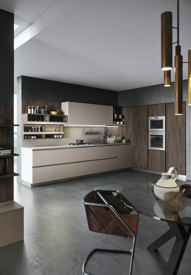 cocina modelo first color beige