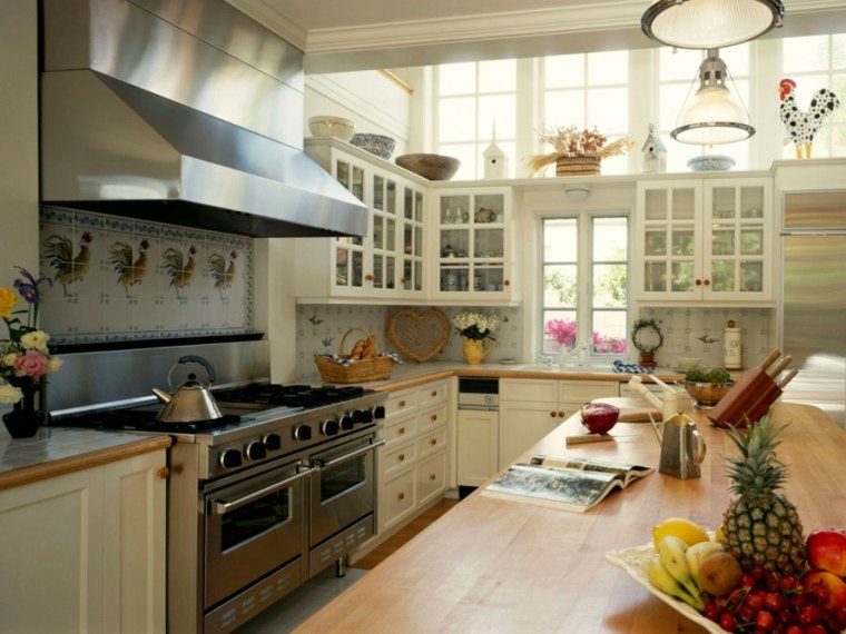cocina tradicional bonito diseño