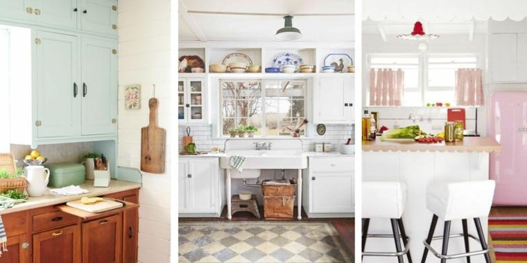 diseños de cocinas vintage